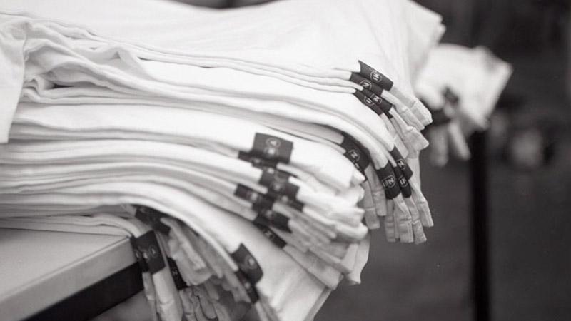 Garment sourcing at October Textiles