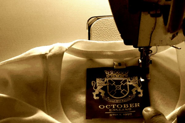 RELABELLING AND GARMENT FINISHING at October Textiles