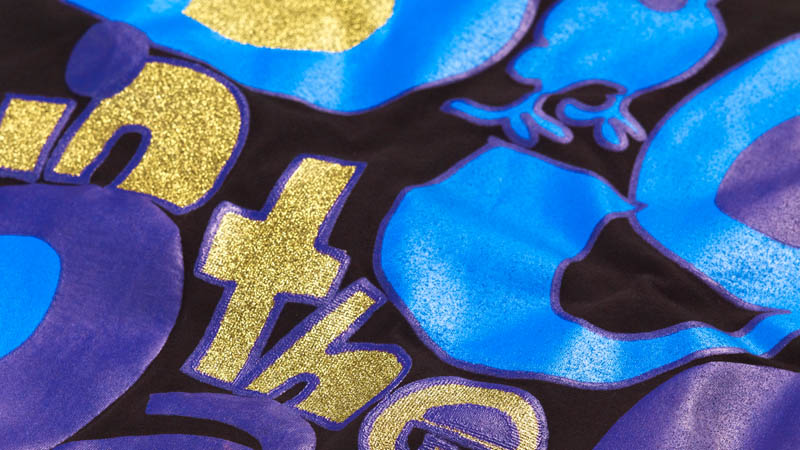 Glitter and Shimmer printing