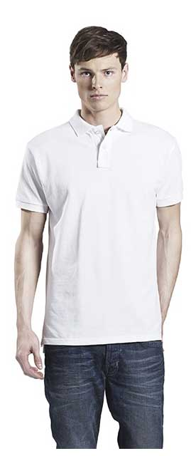 semi fitted pique polo shirt