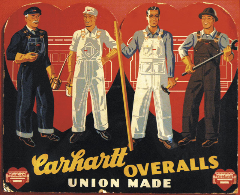 Carhartt workwear and Dickies workwear