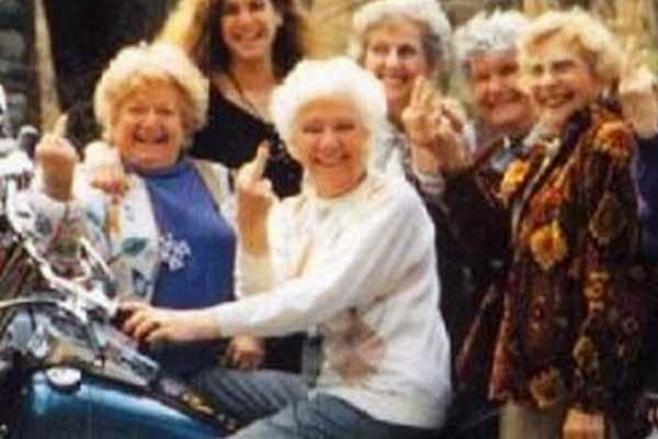 wild old ladies crochet