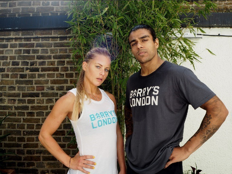 barry's bootcamp London tshirts