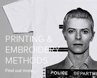 Print & embroidery methods